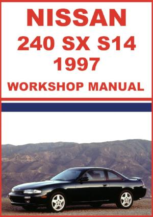 NISSAN 240 SX S14 Series 1997 Workshop Manual | carmanualsdirect