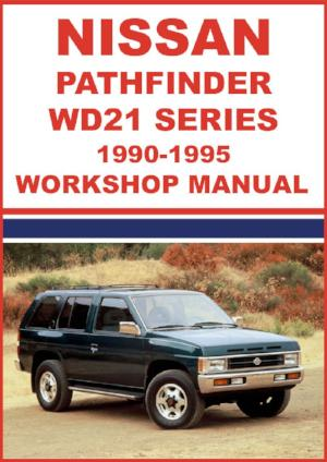 NISSAN Pathfinder WD21 Series 1990-1995 Workshop Manual | carmanualsdirect