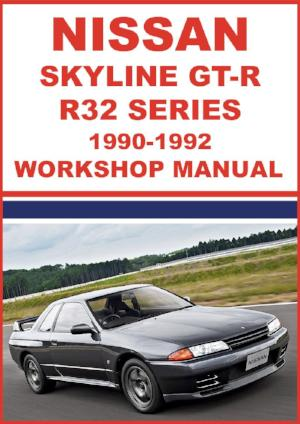 NISSAN Skyline GT-R R32 Series 1990-1992 Workshop Manual | carmanualsdirect
