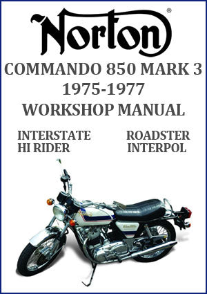 Norton Commando 850 Mark 3 1975-1977 Workshop Manual
