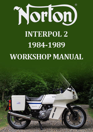 Norton Interpol 2 1984-1989 Workshop Manual