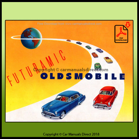 Oldsmobile - Futuramic - 1949 Sales Literature - FREE | carmanualsdirect