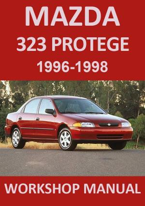 MAZDA 323 Protege 1996-1998 Workshop Manual