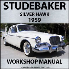 STUDEBAKER Silver Hawk 1959 Shop Manual | carmanualsdirect