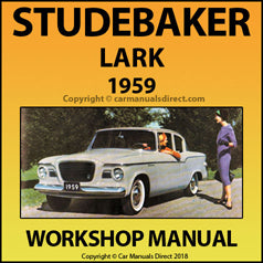 STUDEBAKER Lark (All Models) 1959 Workshop Manual | carmanualsdirect