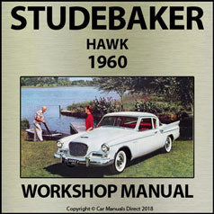 STUDEBAKER Hawk 1960 Shop Manual | carmanualsdirect