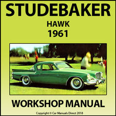 STUDEBAKER Hawk 1961 Shop Manual