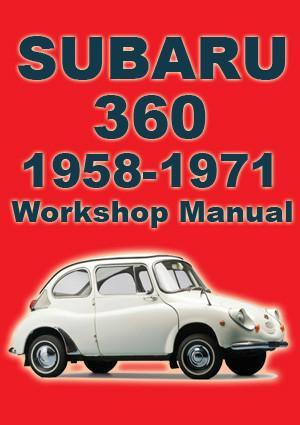 SUBARU 360 1958-1971 Workshop Manual