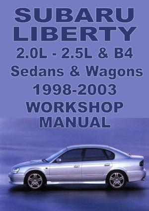 SUBARU Liberty Sedan & Wagon 1998-2003 Workshop Manual