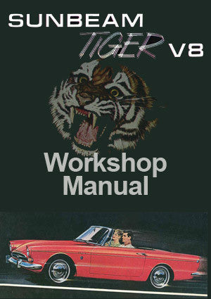 SUNBEAM Tiger 1965-1968 Workshop Manual