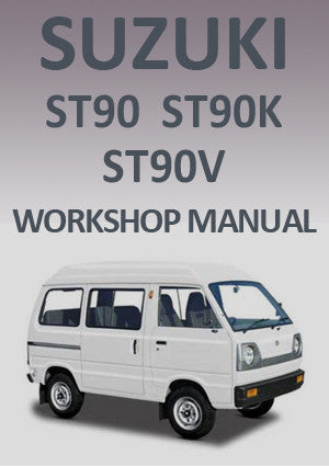 SUZUKI ST90, ST90K, ST90V 1979-1985 Workshop Manual