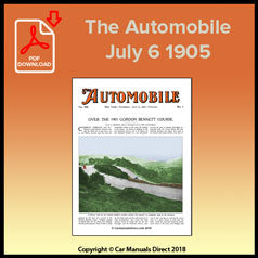 The Automobile July 6 1905