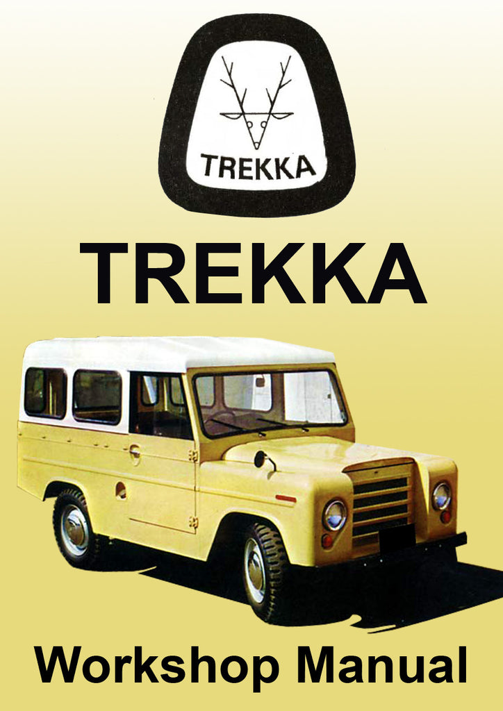 TREKKA 1966-1973 Workshop Manual