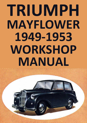 TRIUMPH Mayflower 1949-1953 Workshop Manual