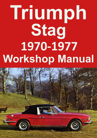 TRIUMPH Stag 1970-1977 Workshop Manual