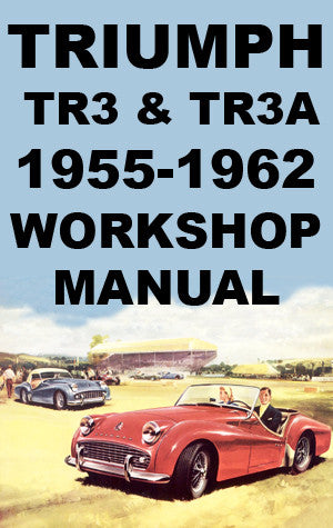 TRIUMPH TR3 & TR3A 1955-1962 Workshop Manual