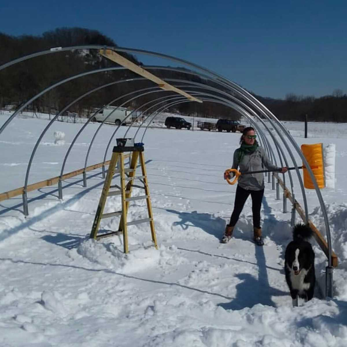Wind & Snow Load Calculator for High Tunnel Greenhouse