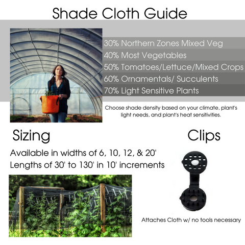 Guide to Using Shade Cloth