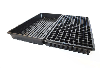 Seed Starter Kit - 200 Cell, 1020 Trays and Humidity Domes