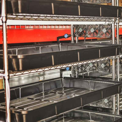 Vertical Automated Propagation Rack