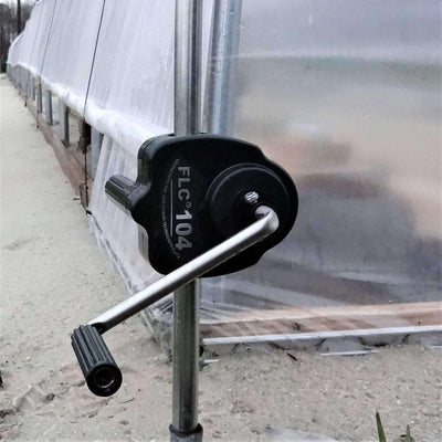 Sidewall Manual Hand Crank Winch for Greenhouse Ventilation