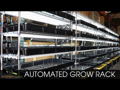 Grow Rack - Automated Vertical Propagation Rack
