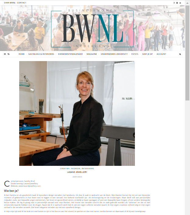 Business Women Nederland FEB 2020
