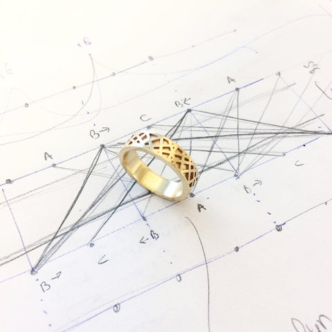 Lasand Prototype Wedding ring