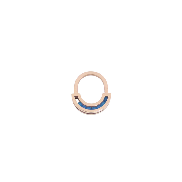 Flow ring red gold blue onyx front