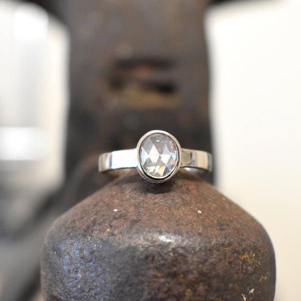 Diamant Verlovingsring Custom Made