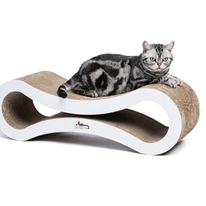 Premium Heavy Duty Corrugated Cardboard Cat Scratcher Lounge