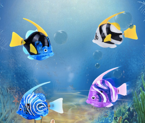 Luminous Electric Robot Fish--Aquarium Decoration Cats Love