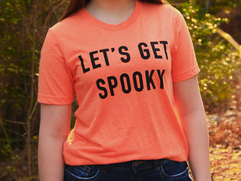 Let's Get Spooky Tee - Rustic Wishes Boutique