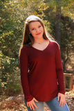 Valerie V-neck - Rustic Wishes Boutique