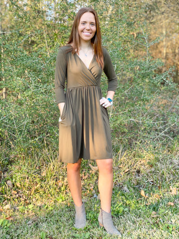 Lauren Dress - Rustic Wishes Boutique