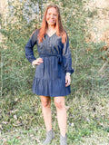 Polka Navy Love - Rustic Wishes Boutique
