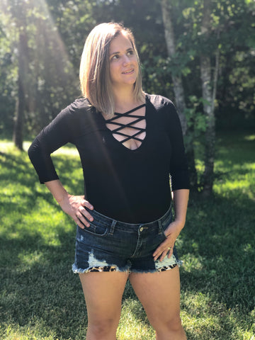 Alyssa Shorts - Rustic Wishes Boutique