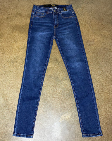High Rise Skinny Jeans - Rustic Wishes Boutique