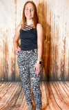 White Leopard Skinny Jeans - Rustic Wishes Boutique