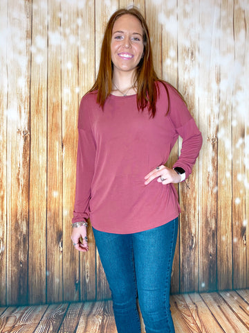 Twist Back Top - Rustic Wishes Boutique