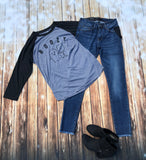 Boozy Raglan - Rustic Wishes Boutique