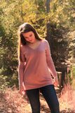 Lavender Pullover Sweater - Rustic Wishes Boutique