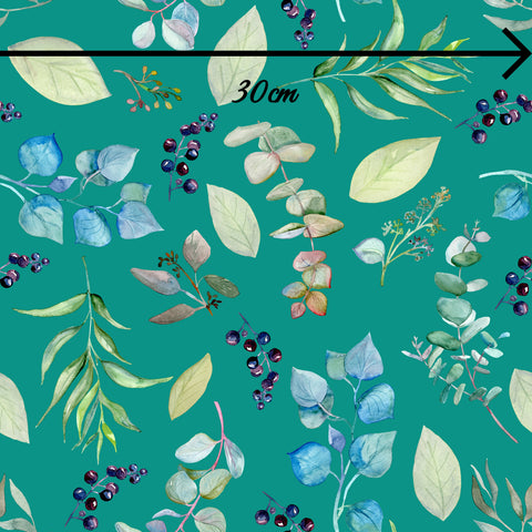 WHOLESALE - NATIVE FLORA TEAL