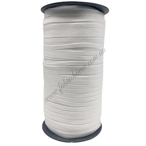 **CLEARANCE** 6mm white elastic - 150m spool (approx 165 yards).