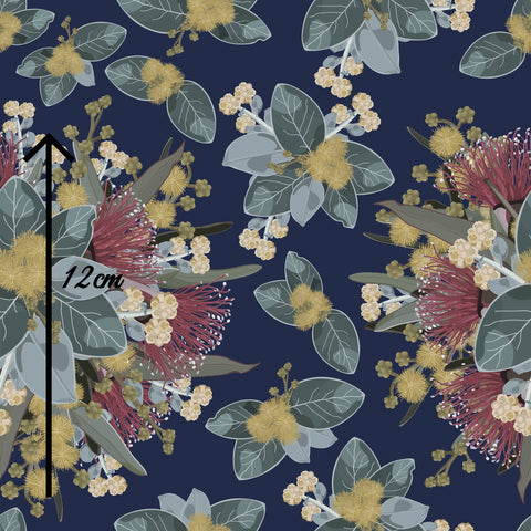 WHOLESALE - WILDFLOWERS NAVY
