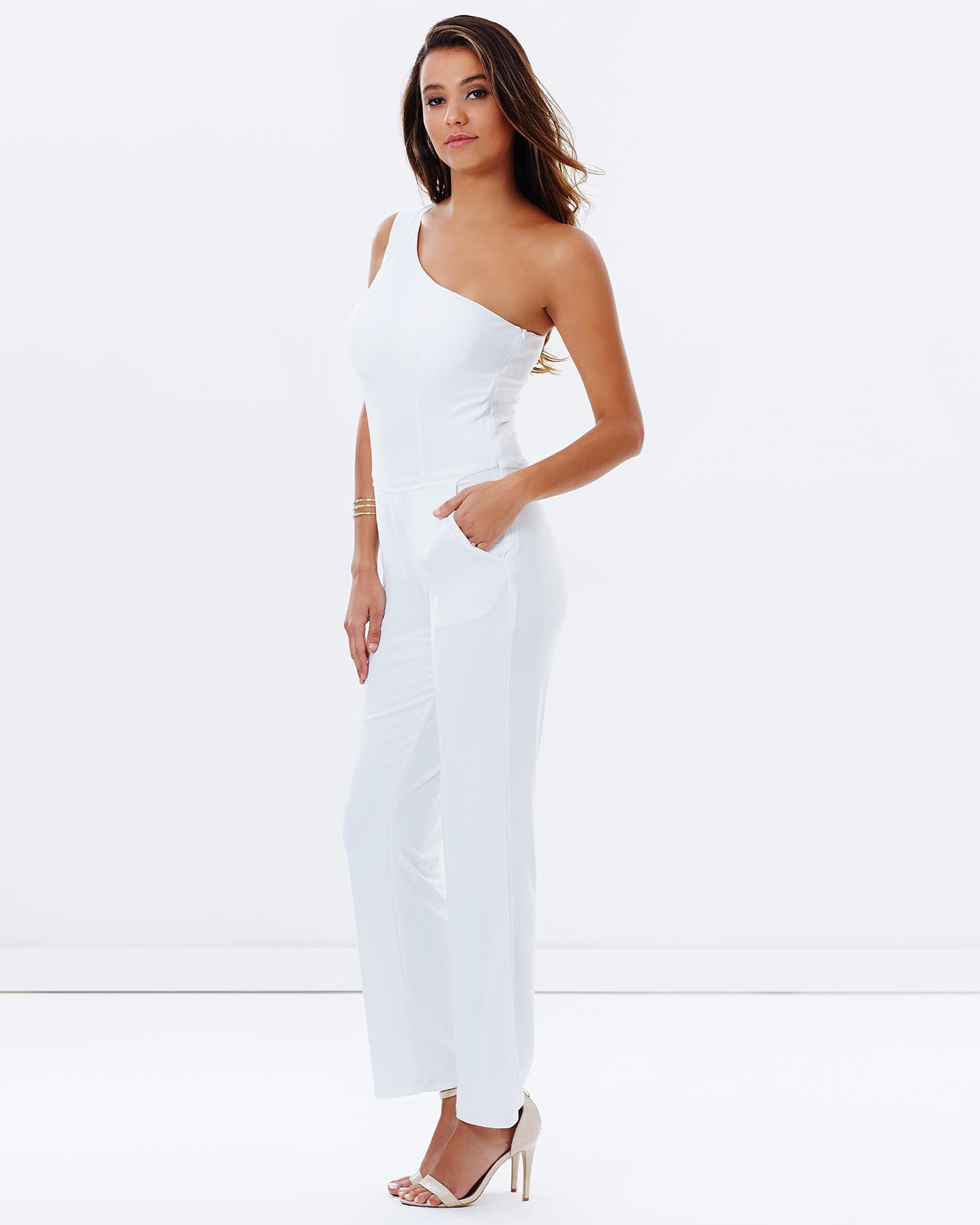 1ededc870b58 One Shoulder Pantsuit - White – SKIVA Clothing