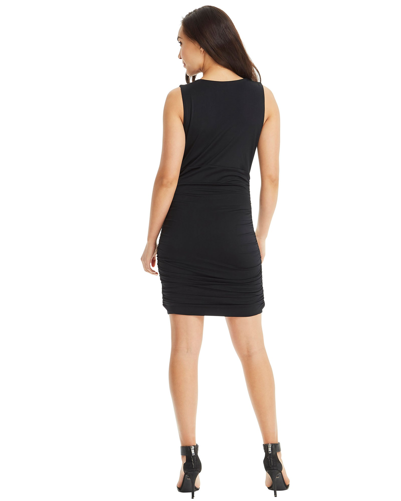 Bodycon V Neck Dress