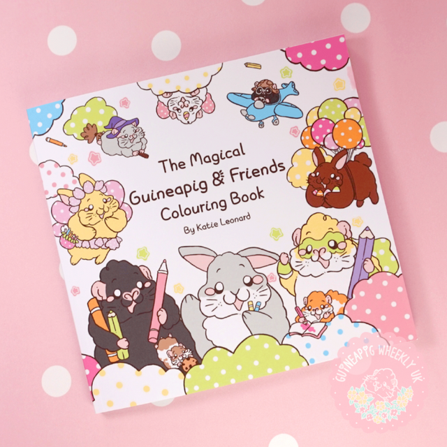 Magical Guinea Pig & Friends Colouring Book
