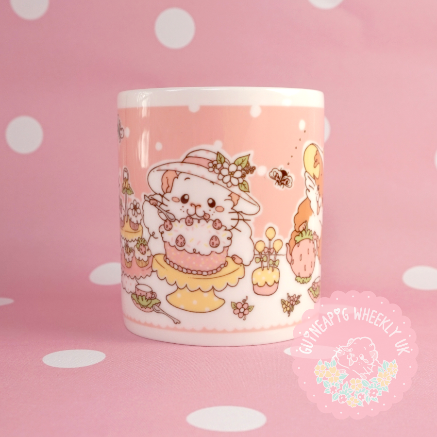 Afternoon Tea Time Guineapig Gift Mug *Instock*