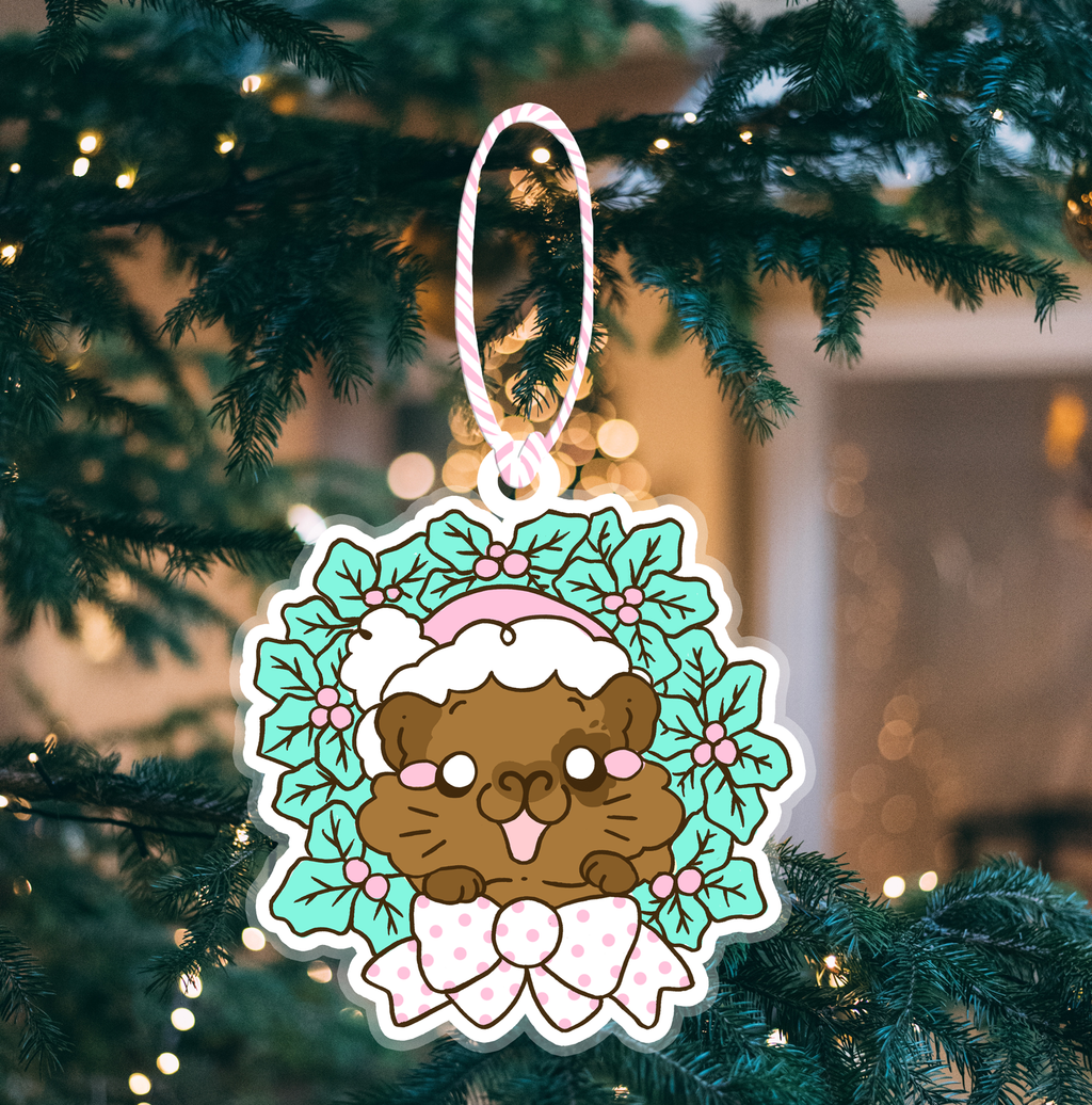 🎄 Preorder - Adoptable Christmas Guinea Pig Tree Decorations🎄